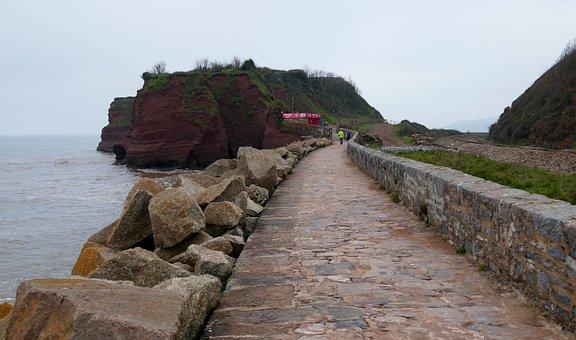 Dawlish Warren, Devon, Beach, Coast, Seaside, Uk, Sand