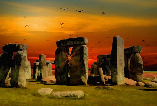 Stonehenge, England, Ancient, Stone, Monument