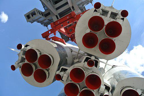 Moscow, Rocket, Launch, Space, Cosmonaut, Russia