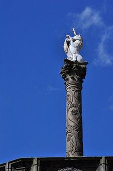 Aberdeen, Scotland, Great Britain, Union Street, Mercat