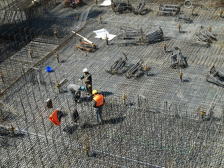 Construction Site, Construction Workers, Building