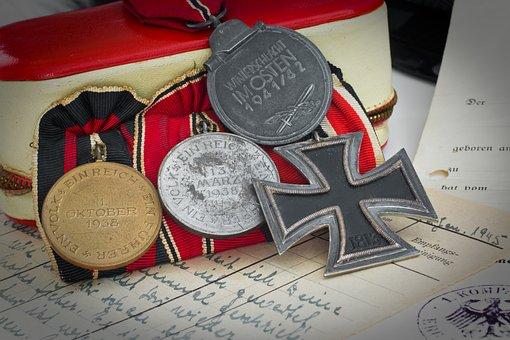 Order, Back, World War Ii, Documentation, Medal