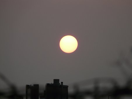 Sun, Pale, Gloomy, Mood, End Of The World, Grey, Trist