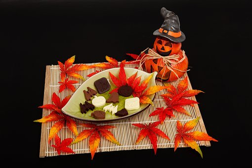 Autumn, Black, Dark, Decoration, Fall, Halloween, Candy