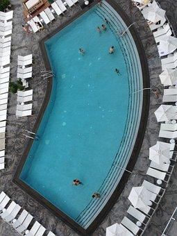Swimming Pool, Big, Miami Beach, Hotel, Pool