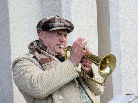 Trumpeter, Musician, Street Music, Street Musicians