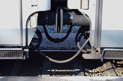 Clutch, Wagon, Train Ride, Railway, Railway Station, Db