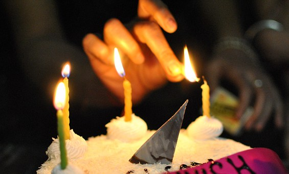 Candles, Light, Cake, Celebration, Decoration, Bright