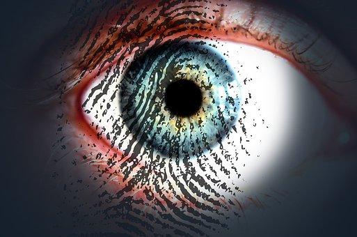 Eye, Fingerprint, Eye-print Check, Iris