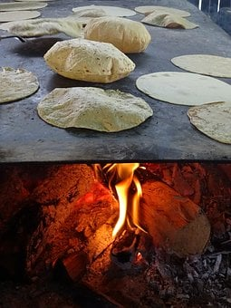 Tortilla, Food, Gastronomy, Mexico, Lena, Round