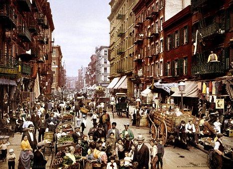 New York City, Nyc, Manhattan, Mulberry Street