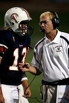 Football, Coach, Coaching, Player, American, Sport