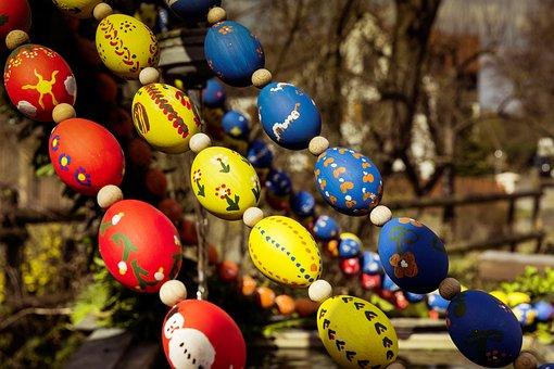 Easter, Egg, Easter Eggs, Easter Egg, Art, Color