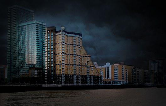 England, City, Sights, Building, London, Sky, Canon