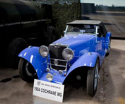 Classic Car, Cochrane Mg, 1954, Cochrane