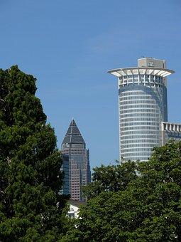 Bank, Bank Tower, Commerzbank, Euro, Facade, Frankfurt