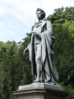 Monument To Schiller, Monument, Schiller, Statue