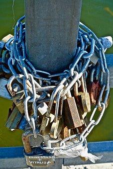 Locks, Padlocks, Security, Connecting, Secure