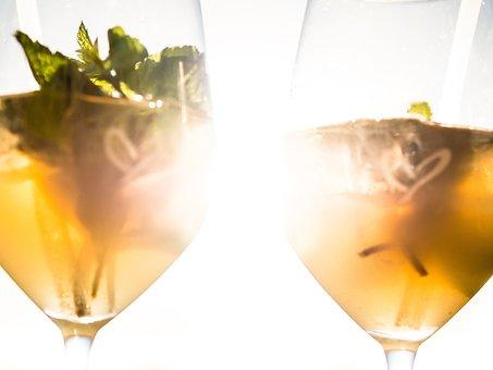 Glasses, Glass, Drink, Beverages, Reflection