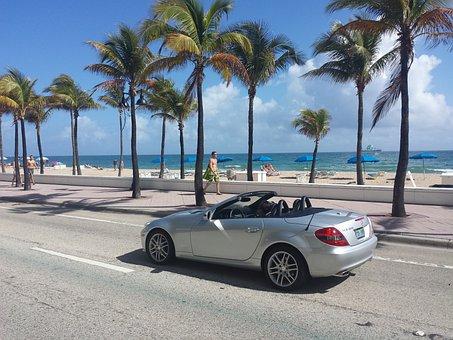 Miami, Usa, Beach