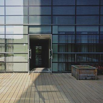Light And Shadow, Modern, Jing Fang, Door, Entrance