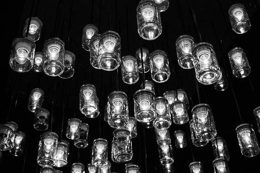 Lights, Ornaments, Lighthouses, Night, Spotlights