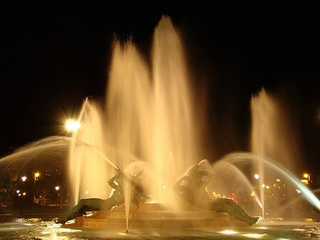 Swann Memorial Fountain, Fountain Of The Three Rivers