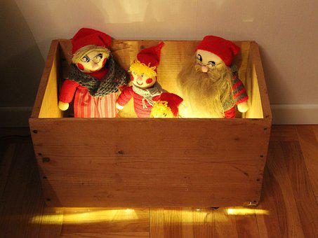 Christmas, Christmas Decorations, Claus, Gnomes