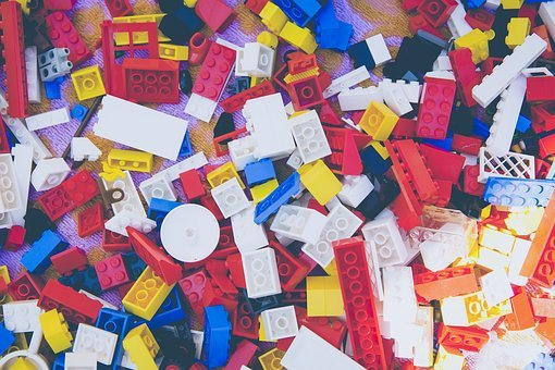 Lego, Play, Build, Module, Colorful, Number, Many, Toys