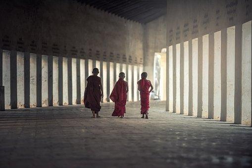 Asia, Burma, Faith, Boy, Buddha, Buddhism, Buddhist