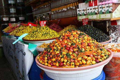 Morocco, Olives, Market, Arab, Moroccan, Traditional
