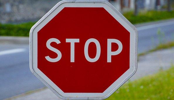 Panel, Stop, Signalling, Road, Traffic, Road Sign