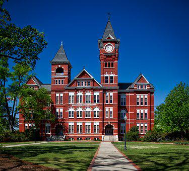 Samford Hall, Auburn University, Alabama, Building