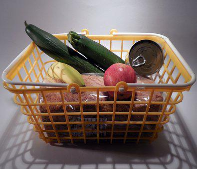 Basket, Shopping Cart, Purchasing, Shopping