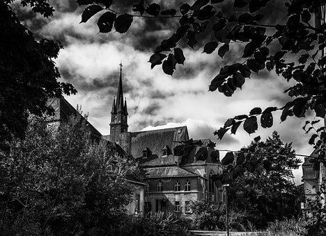 Lost Places, Chapel, Church, Steeple, Institute