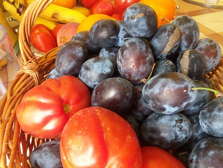 Fruits, Color, Summer, Plumps, Tomatoes