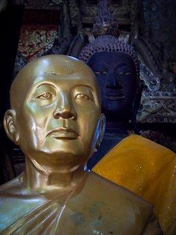 Buddha, Buddhism, Thailand, Face, B, Facial Expression