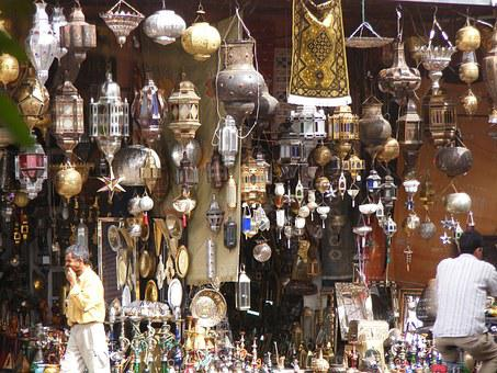 Lamp, Bazaar, Lantern, Traditional, Market, Light