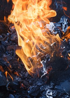 Fire, Coals, Koster