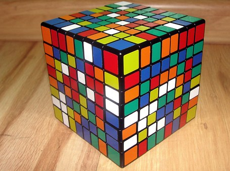Rubik's Cube, 8x8x8, Jigsaw Puzzle, Thinking, Logic