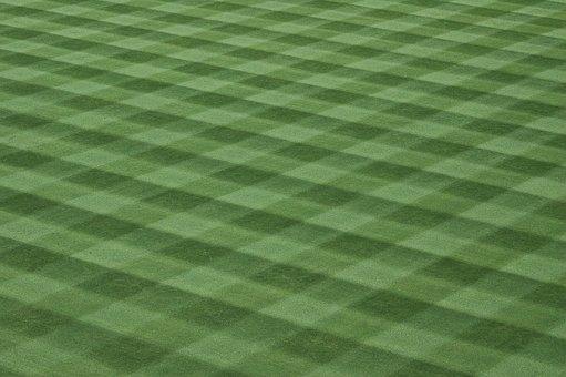 Baseball Field, Landscape, Lawn, Green, Ball, Baseball
