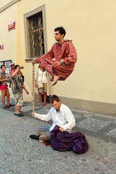 Street Artists, Magician, Artists, Downtown, Prague