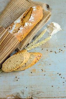 Bread, Artisan, Food, Paper, Rustic, Whole Wheat, Warm
