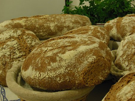 Bread, Loaves, Loaf, Homemade, Sourdough, Baked, Food