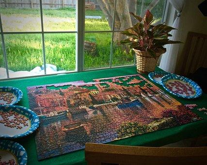 Jigsaw Puzzles, Process, Jigsaw, Puzzle, Puzzle Pieces