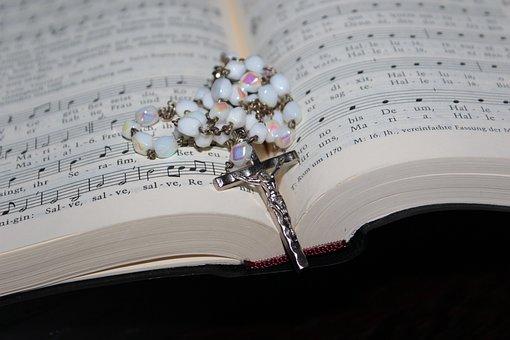 Rosary, Prayer Book, Hymnal, Religion, Prayer, Faith