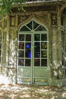 Door, Old, Glass, Abandoned, Wood, Old Door