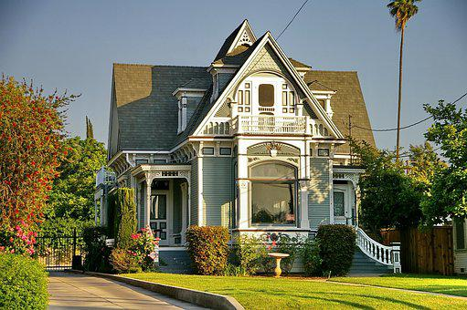 Victorian Style, Redlands, Historic, California, House