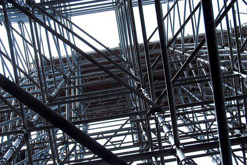 Scaffolding, Scaffold, Construction, Site, Cologne, Dom