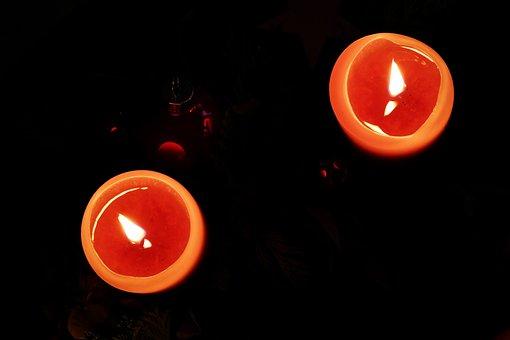 Advent, Candles, Lights, Meditative, Christmas, Flame